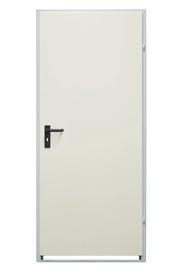 Plieninės vidaus durys Drumetall ZK40-1, baltos, dešininės, 870X2035 cm