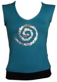 Bars Womens T-Shirt Blue 129 M
