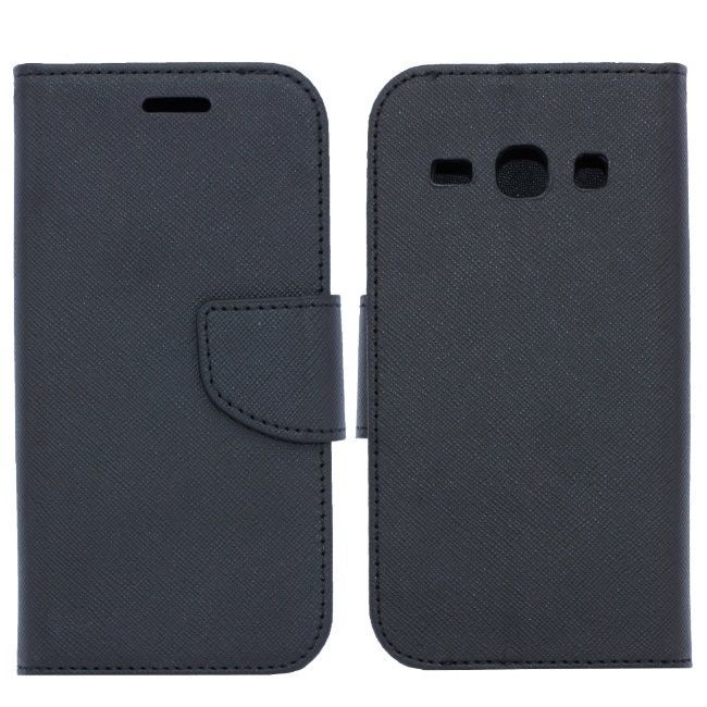 Telone Fancy Diary Bookstand Case For Huawei Honor 9 Lite Black