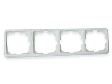 Keturvietis rėmelis Vilma LX200, baltos spalvos