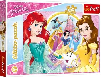 Trefl Glitter Puzzle Princess Walk 100pcs 14819