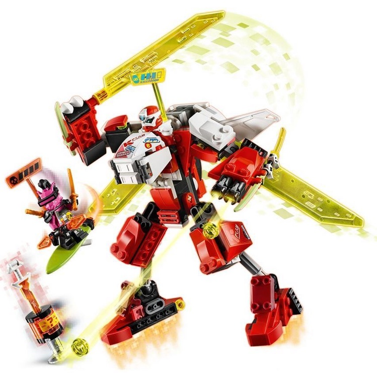 Konstruktorius LEGO®Ninjago 71707 Kajaus mechaninio roboto lėktuvas