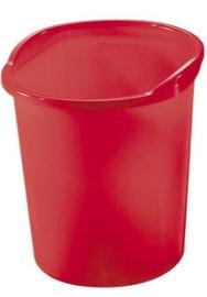 Herlitz Paper Bin 10653830 Red