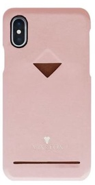 Vix&Fox Card Slot Back Shell For Apple iPhone XS Max Pink
