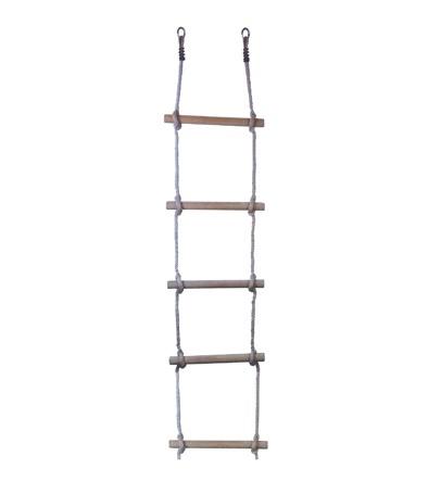 Medinės kopėtėlės, viengubos, 180 x 3,5 x 40 cm