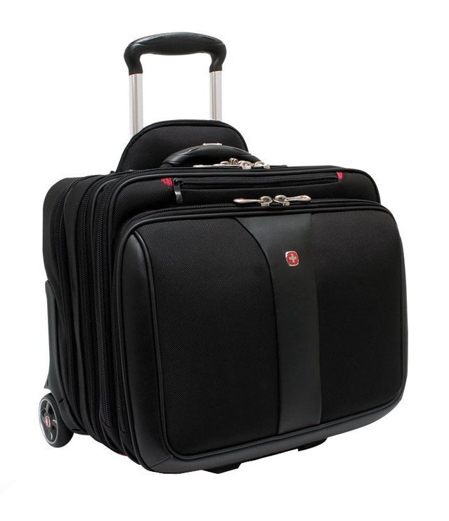 """Wenger Patriot 2in1 17"""" Laptop Bag And Rolling Case"""
