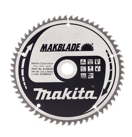 ZĀĢRIPA MAKITA B-09042 190X20X2,0MM Z60
