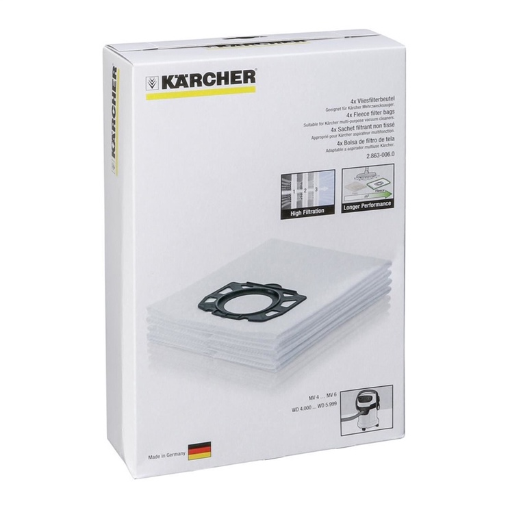 Karcher Dust Bags WD 4/WD 5/WD 6