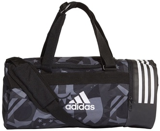 Adidas Convertible 3-Stripes Duffel Bag Small DT8654 Black