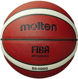 Molten FIBA Basketball B6G4000 Orange Size 6