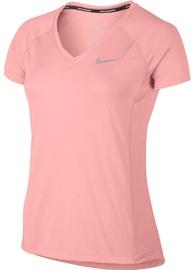 Nike Dry Miler Top V-Neck 831528-808 Pink XS