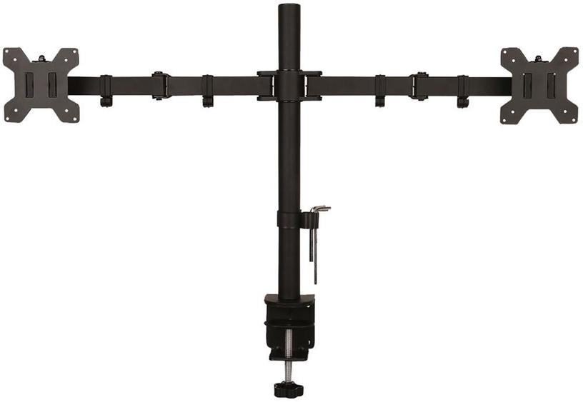 Televizoriaus laikiklis ART Holder For 2 LED/LCD Monitors 13-27'' Black