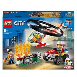 Конструктор LEGO City Пожарный спасательный вертолёт 60248, 93 шт.