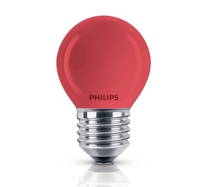 Kaitrinė lempa Philips P45, 15W, E27, 2700K, 230lm
