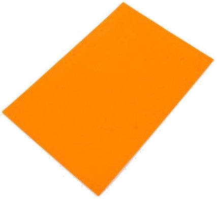 Avatar Rubber Sheet A4 Orange