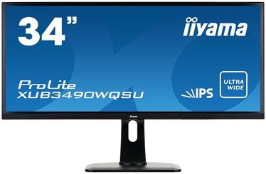 Monitorius Iiyama ProLite XUB3490WQSU-B1