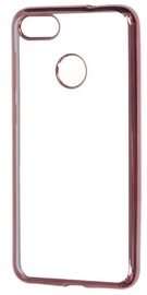 Mocco Electro Jelly Back Case For Huawei Mate 10 Lite Transparent/Rose Gold