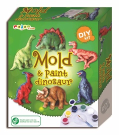Rotaļu komplekts Mold and Paint Dinosaur 52502216