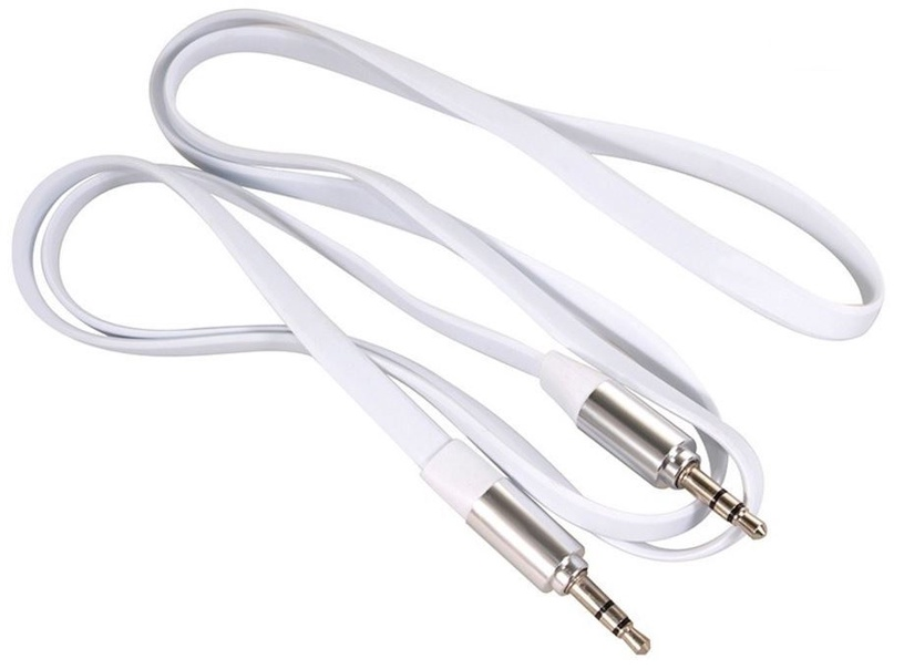 Maclean Cable 3.5mm / 3.5mm White 1m