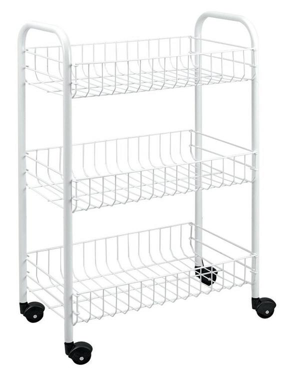 Serveerimiskäru Metaltex Slim Three Stage Rolling Cart 56x23x84cm