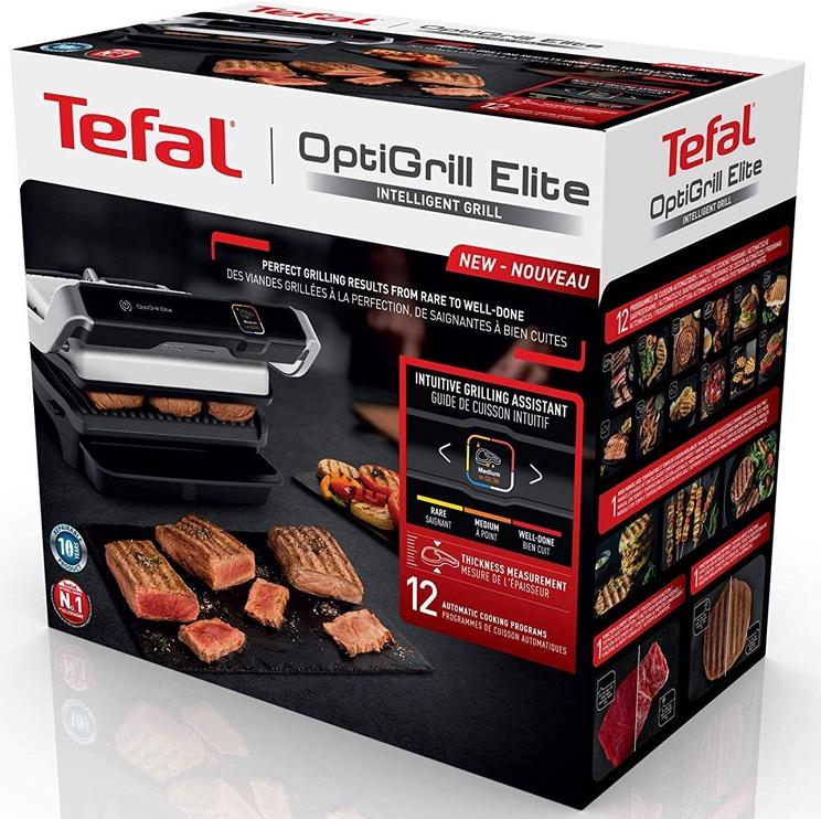 Elektrinis grilis Tefal OptiGrill Elite GC750D12