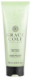 Grace Cole Body Scrub 238ml Grapefruit, Lime & Mint