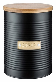 Typhoon Sugar Storage Canister 1.4l Black