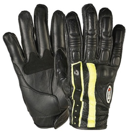 Shiro Pista Gloves SH-06 Black Yellow M