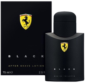 Ferrari Black Line 75ml After Shave Lotion