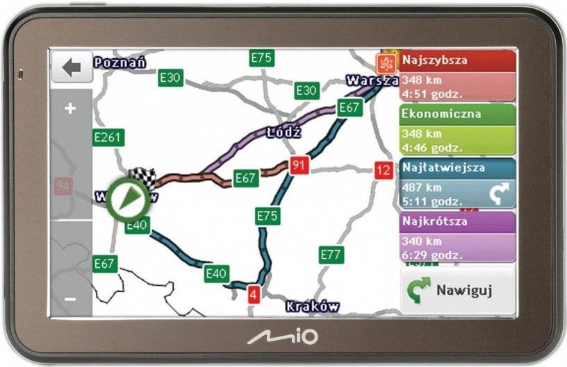 Mio Spirit 7500 without Maps