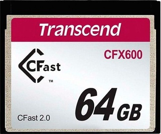 Transcend CompactFlash CFX600 64GB
