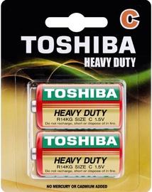 Toshiba Zn-C Battery R14 x 2