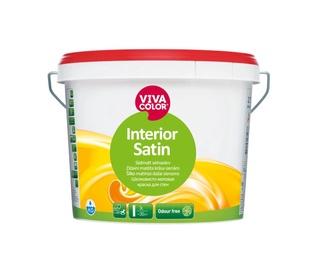 Krāsa sienām Vivacolor Interior Satin, 0.9 l, balta