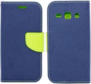 Telone Fancy Diary Bookstand Case For Samsung Galaxy J3 J330F Blue/Light Green