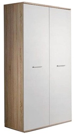 ASM Dino 2D Wardrobe White/Sonoma Oak