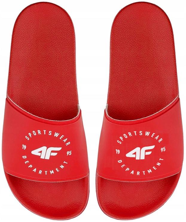 4F Women Slides H4Z20-KLD001 Red 39