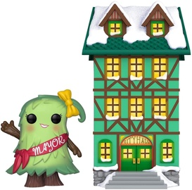 Funko Pop! Town Holiday Town Hall Mayor Patty Noble 04