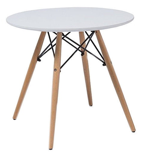 Kafijas galdiņš Signal Meble Soho White, 800x800x730 mm