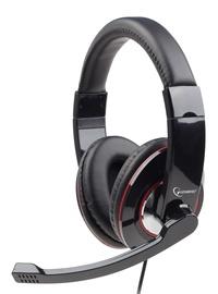 Ausinės Gembird MHS-U-001 Glossy Black