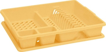 Curver Dish Dryer 45x38x8,8cm Yellow