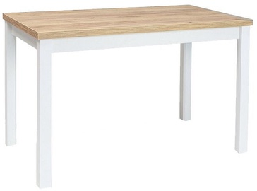 Signal Meble Table Adam Golden Craft Oak/White 120x68cm