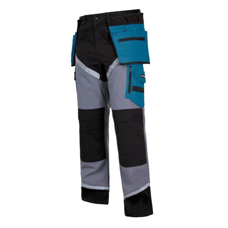 Lahti Pro L40502 Protective Trousers Blue/Grey XXXL