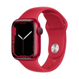 Nutikell Apple Watch Series 7 GPS 41mm Aluminum, punane