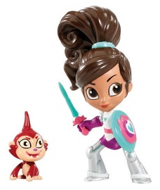 Rotaļlietu figūriņa Nickelodeon Nella The Princess Princese Nella & Impkin 11258.2500