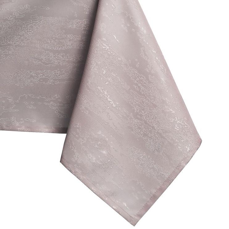 Скатерть AmeliaHome Vesta HMD Powder Pink, 150x150 см