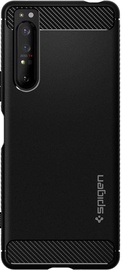 Spigen Rugged Armor Back Case For Sony Xperia 1 II Black