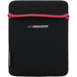 Esperanza ET173R Sleeve For Tablets 10.1'' Black/Red