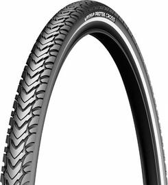 Michelin Protek Cross Tyre 700x35 Black/Reflective