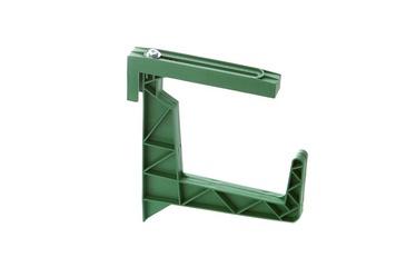Plastikinis lovinių vazonų laikiklis Uniplastex, žalias
