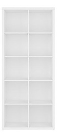 Black Red White Nepo Bookshelf REG